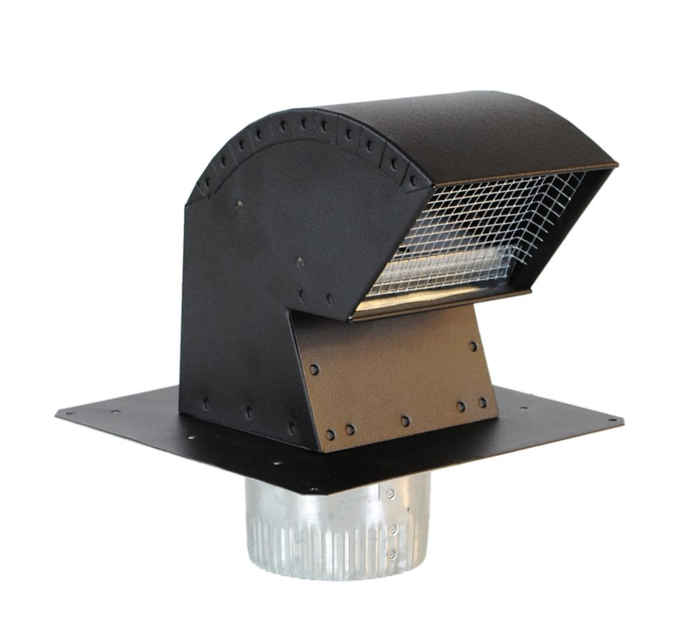 Imperial 4-inch Roof Vent Cap with collar