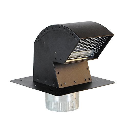Capuchon de Ventilation pour Toiture avec Collet