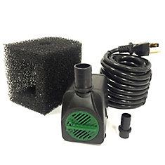 Pompe de fontaine avec cordon de 5 m - 850 LPH avec la technologie Safe-Stop™MC