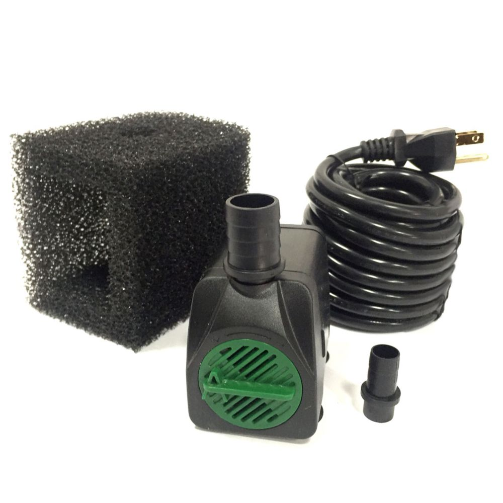 Angelo Décor 850 LPH Pump with Safe-Stop Technology and 15 ft. Cord
