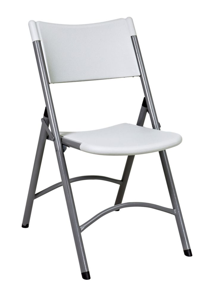 Resin Multipurpose Folding Chair, 4 Pack