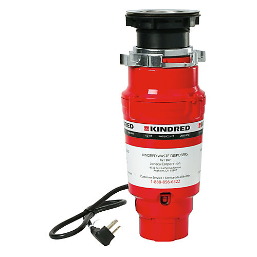 1/2 H.P. continuous feed - 2 year warranty