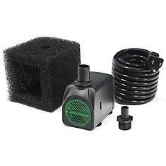 Pompe de fontaine avec cordon de 5 m - 1200 LPH avec la technologie Safe-Stop™MC