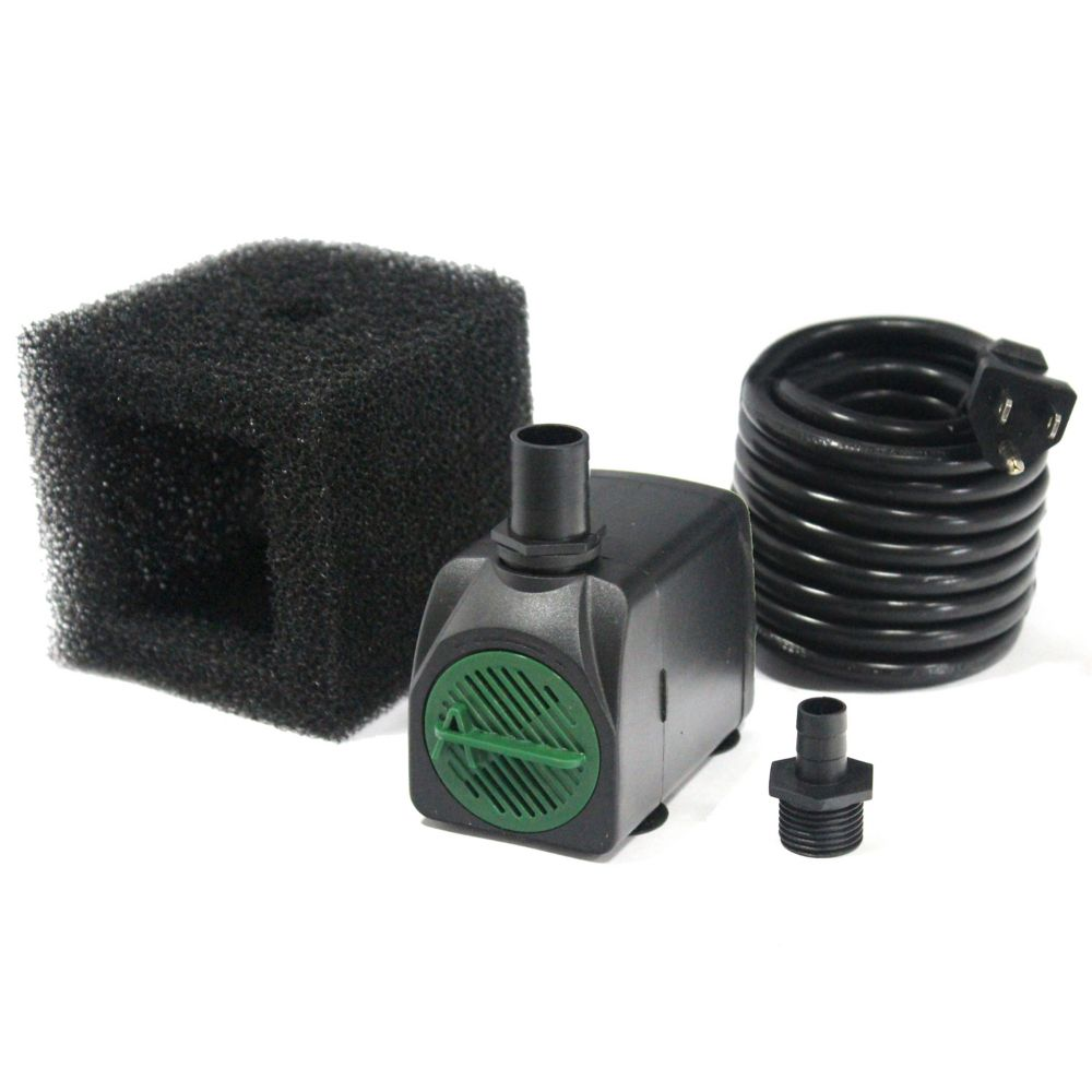 320 Gallon Per Hour Pump with Safe-Stop Technology