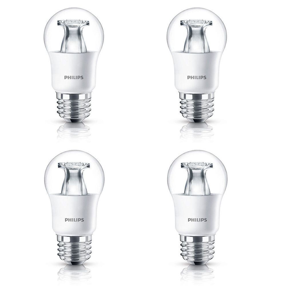 Lampe de ventilateur A15 DEL 40 W  À culot moyen - Cas de 4 Ampoules