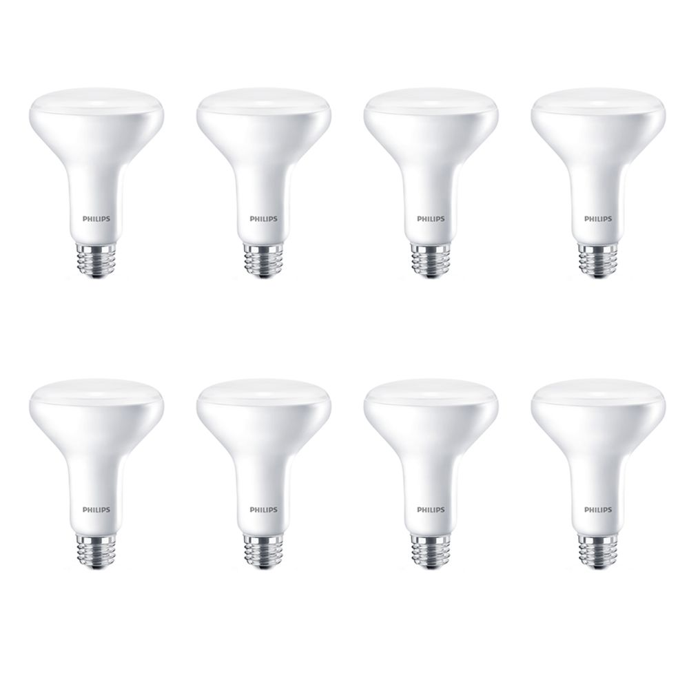 LED 65W BR30 Soft White (2700K) - Case Of 8 Bulbs