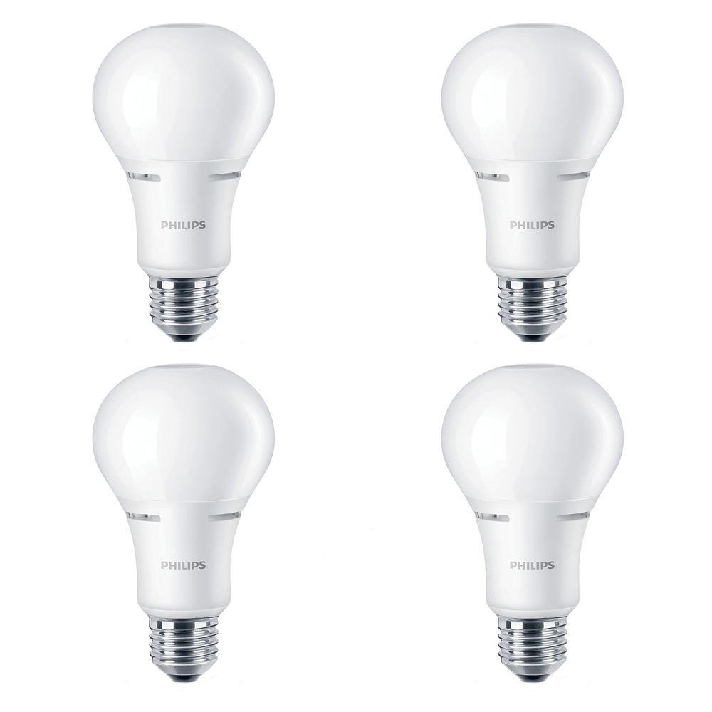 Lampe de menage décoratifs A21 DEL 100 W  À culot moyen. - Case de 4 Ampoules