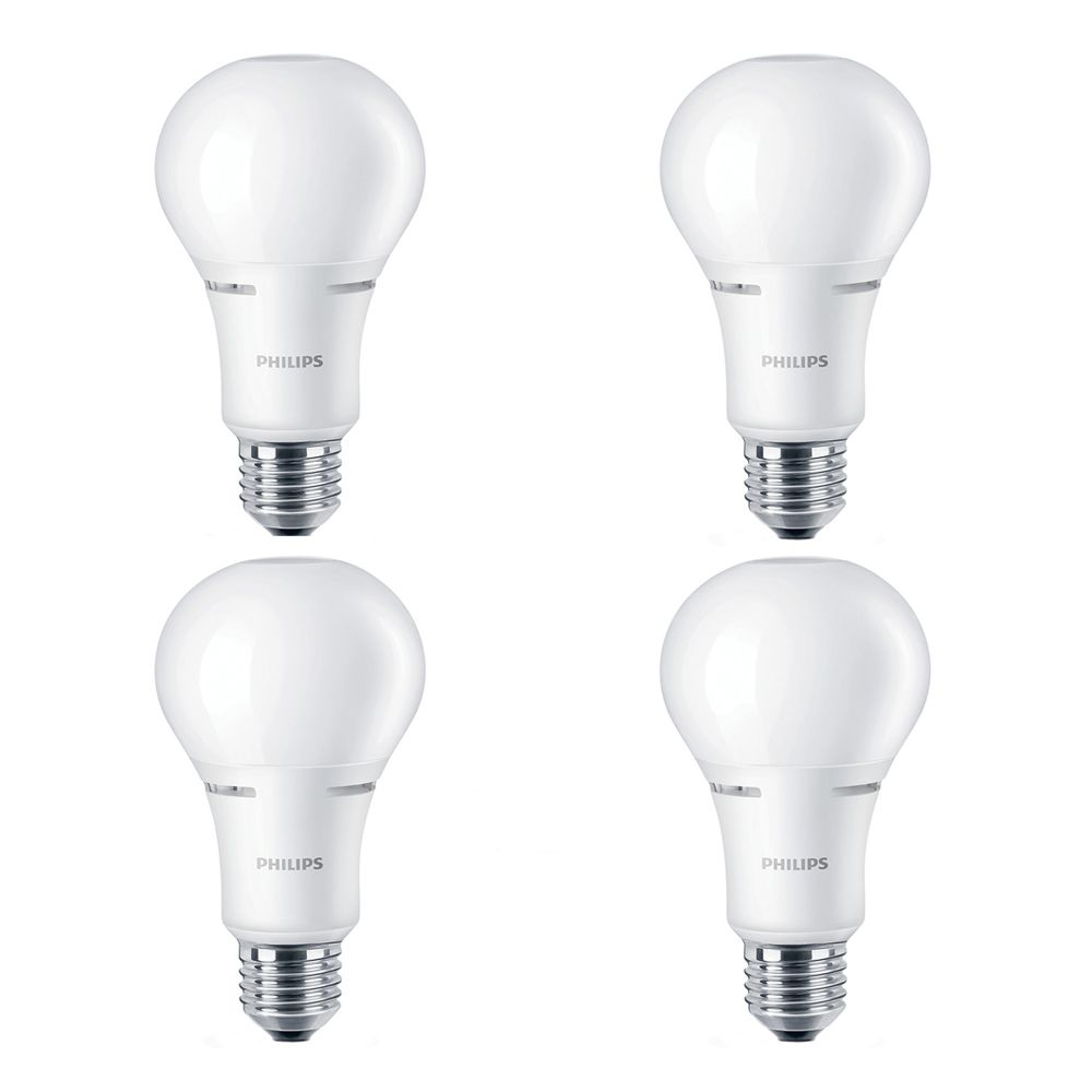 LED 75W A21 Soft White WarmGlow (2700K - 2200K) - Case Of 4 Bulbs