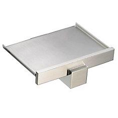Elite Wall Mount Soap Dish - Brushed Nickel
