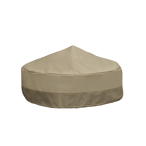Patio Armor Outdoor Round Fire Pit Cover