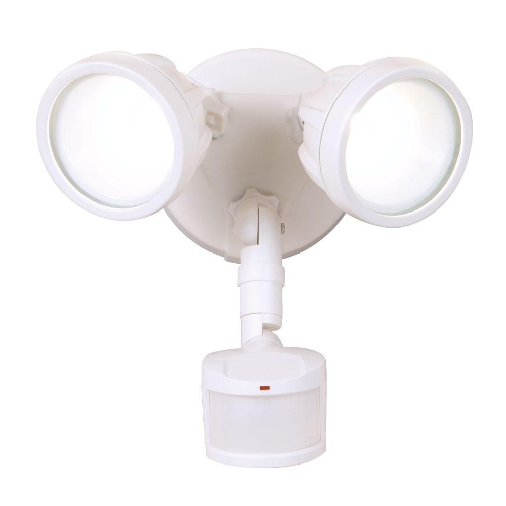 DEFIANT 180° LED Twin Motion, WH