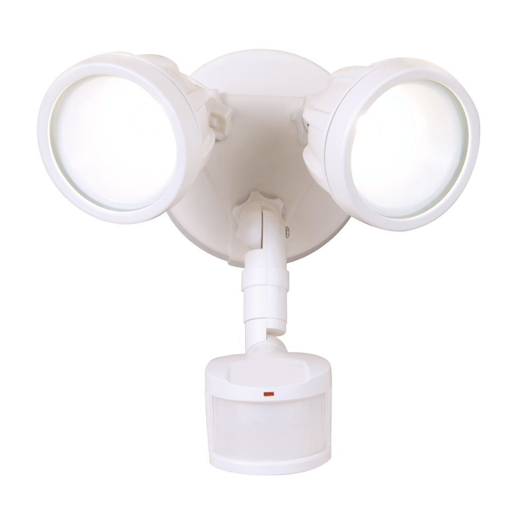 DEFIANT 180° LED Twin Motion, WH