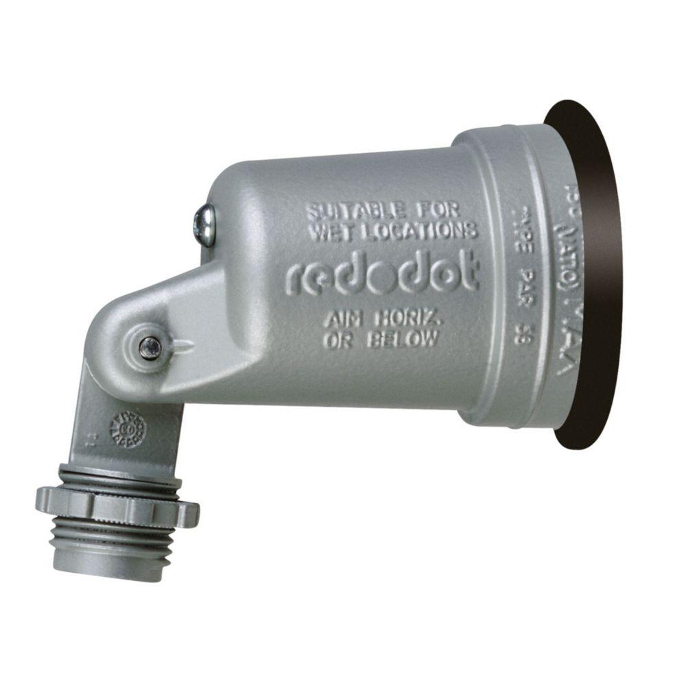 Lampholder W/Gasket Silver