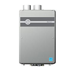 Rheem Chauffe-eau sans réservoir au propane liquide à condensation au platine de 18,5 litres par minute