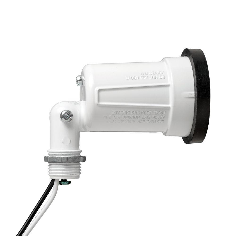 Lampholder W/Gasket White