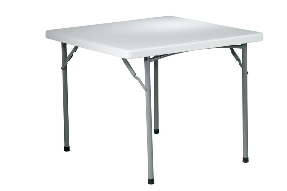 36 Inch Squre Resin Table