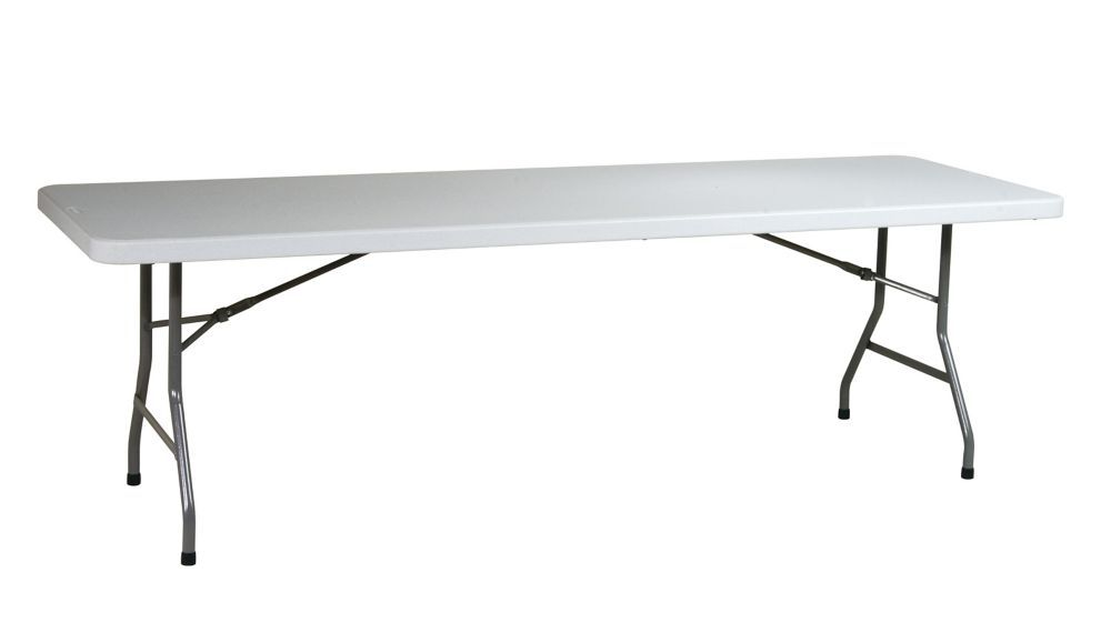 Table en résine tout usage de 8 pieds