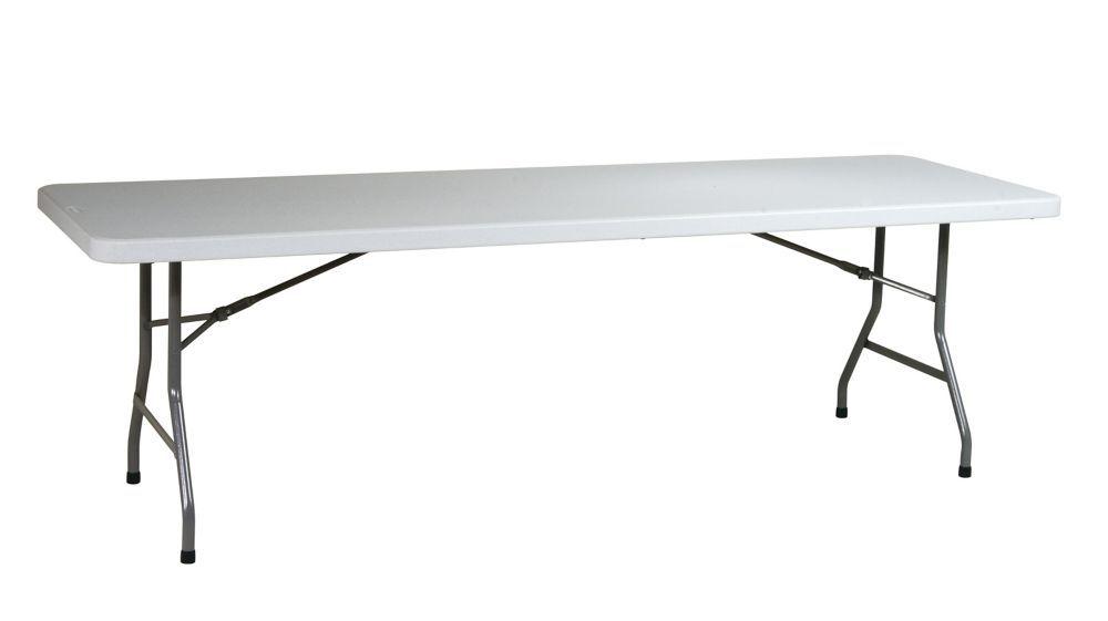 8 ft. Resin Multipurpose Table