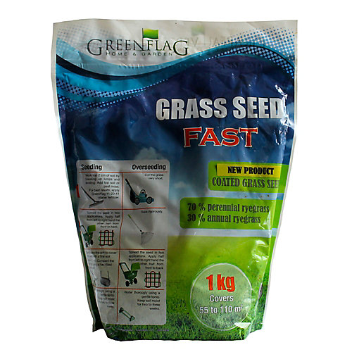 1 kg Fast Coated Grass Seed