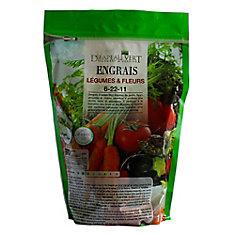 1kg 6-22-11 Vegetables Fertilizer