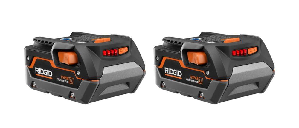 RIGID 18V 3.0 Ah High Capacity Battery (2-Pack) AC840083SB