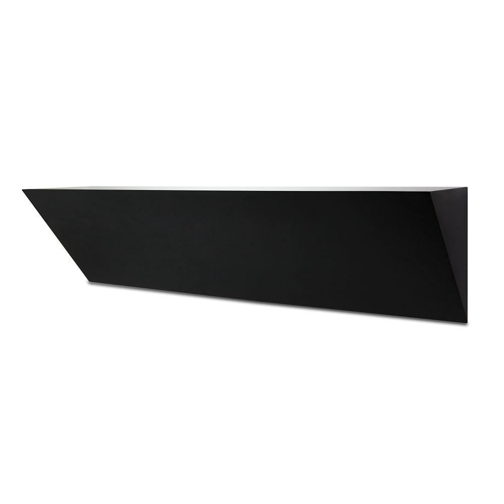 Wedge Ledge Black 24 Inch.