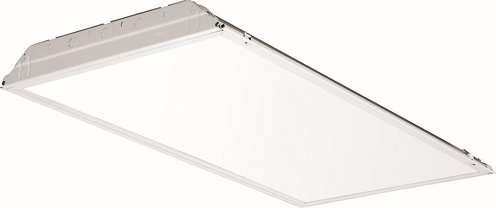 Le luminaire à encastrer à DEL de 2pi x 4pi de Lithonia représente l'éclairage à DEL à usage général