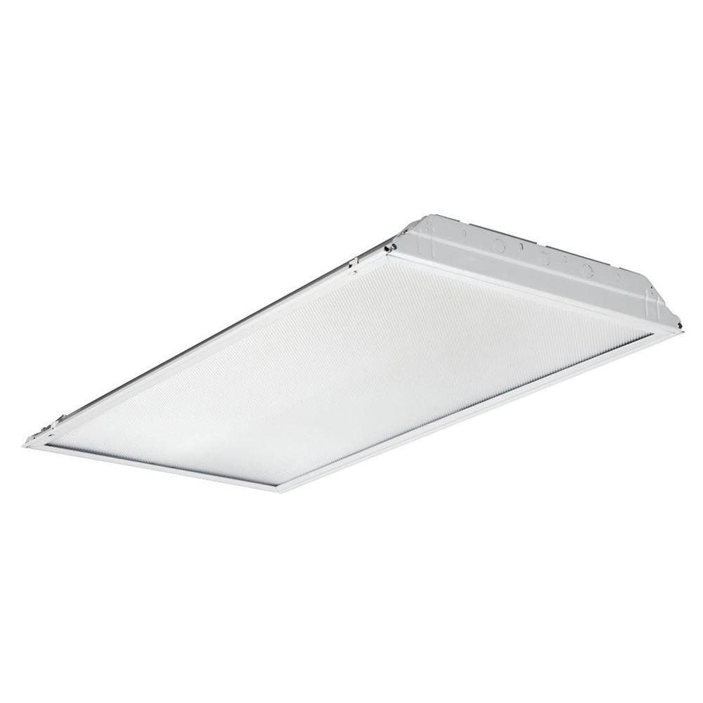 2 Feet X 4 Feet White Prismatic Lens Lay- In LED Troffer ( 28-Pallet )
