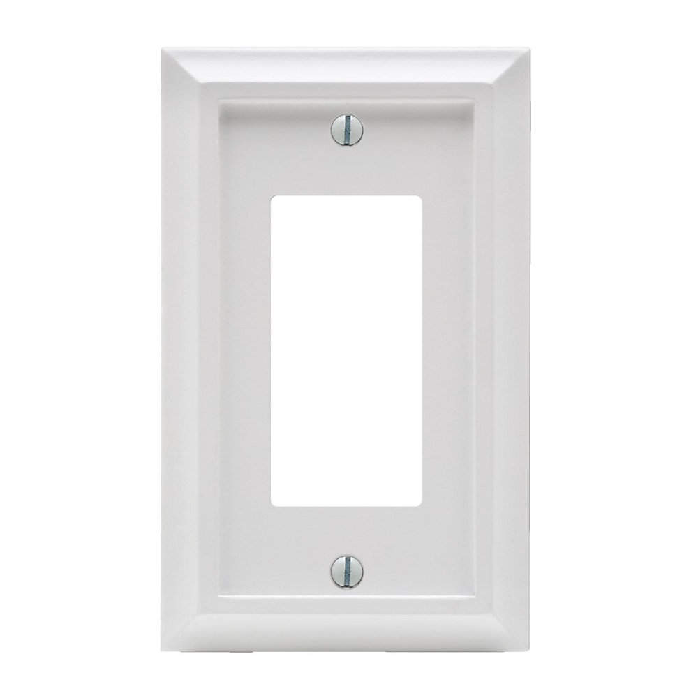 PLAQUE MURALE DEERFIELD EN BOIS BLANC – DISPOSITIF DECORA SIMPLE