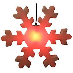 76.2 cm (30 -inch) Diameter Outdoor LED Snowflake Ornament