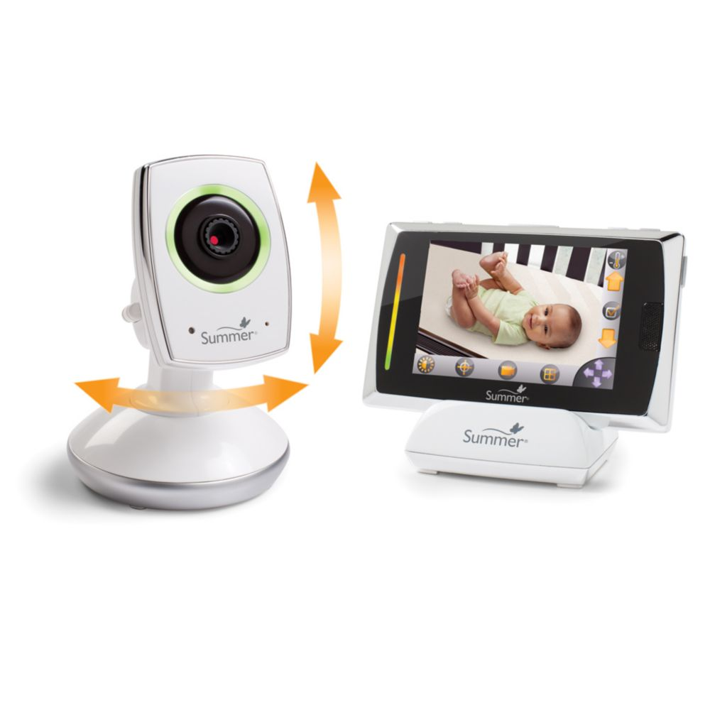 Baby Touch Wi-Fi Video Monitor & Internet Viewing System