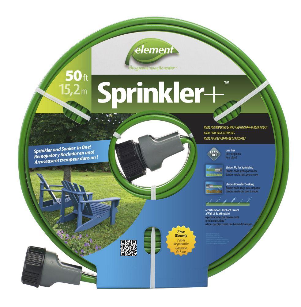 Element 50 ft.  Sprinkler Hose