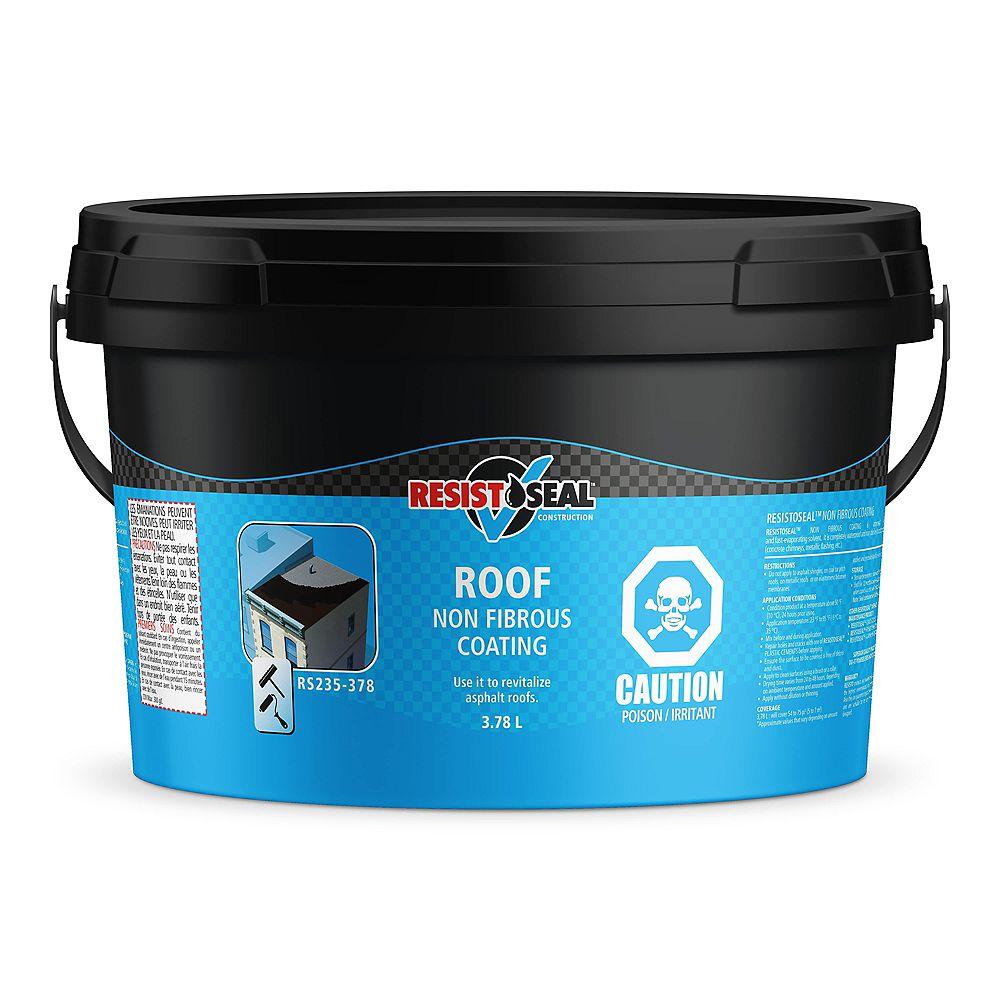 Resisto Enduit Pour Toiture Non Fibreux 3 78l Home Depot Canada