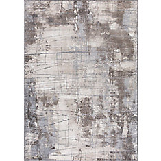 Merinos Ibiza Grey 5 Ft 3 Inch X 7 Ft 4 6 Inch Indoor