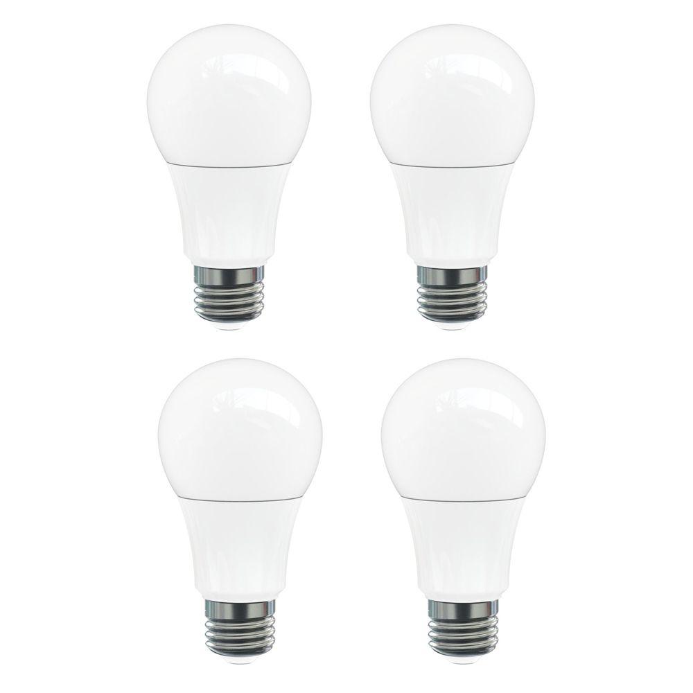 A21 13W 3000K 1100LM Omni Dimmable LED Bulb - 4-Pk ST-A19OMNI30KD-75 Canada Discount