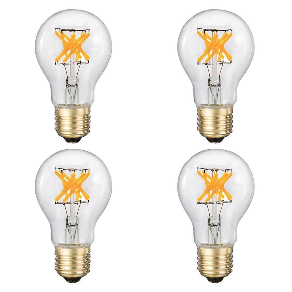 A19 Ampoule 5W Ampoule LED 500lm cri90 peut être obscurci