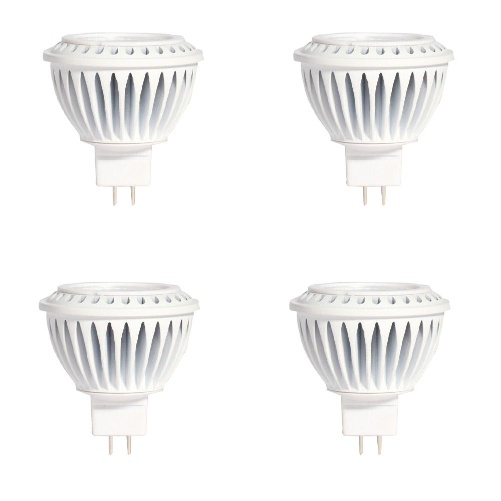 MR16 7W 3000K 500LM CRI90 Dimmable LED Bulb - 4-Pk
