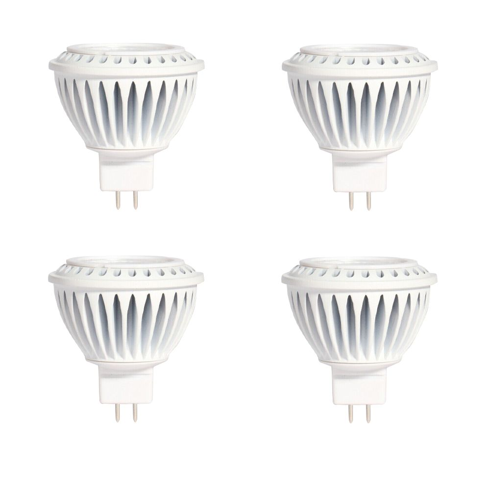MR16 7W 5000K 500LM CRI90 Dimmable LED Bulb - 4-Pk