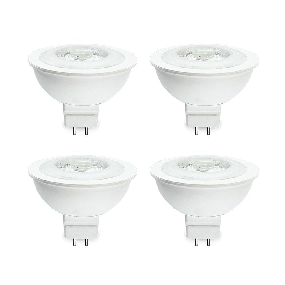 PAR16 7W 5000K 500LM CRI90 Dimmable LED Bulb - 4-Pk