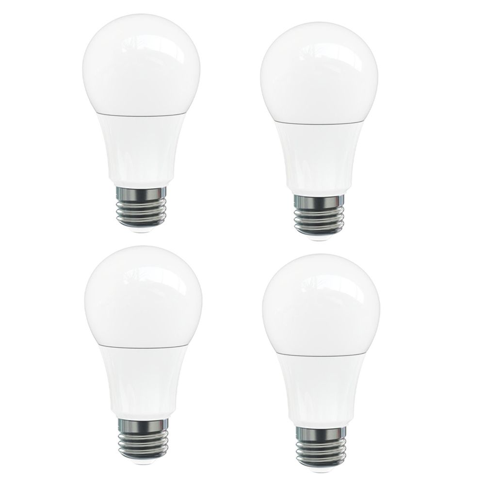 A19 9.5W 4000K 810LM Omni Dimmable LED Bulb - 4-Pk ST-A19OMNI40KD Canada Discount