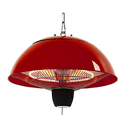 EnerG+ Hanging Infrared Gazebo Heater in Red