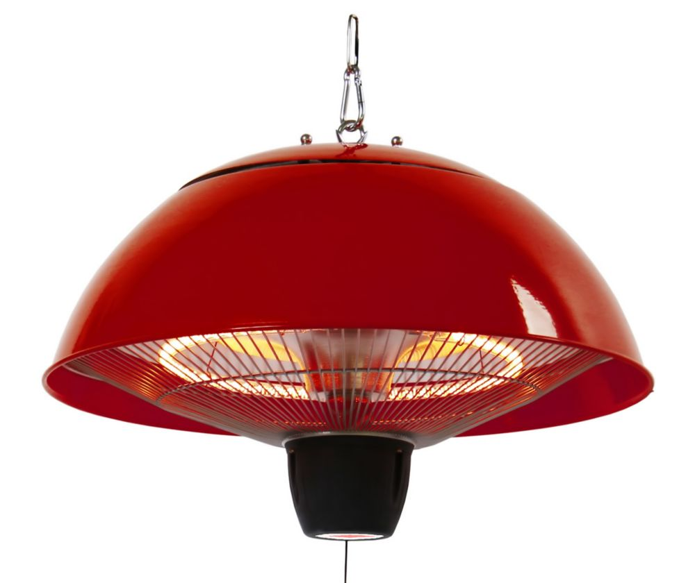 EnerG+ Hanging Infrared Gazebo Heater in Red