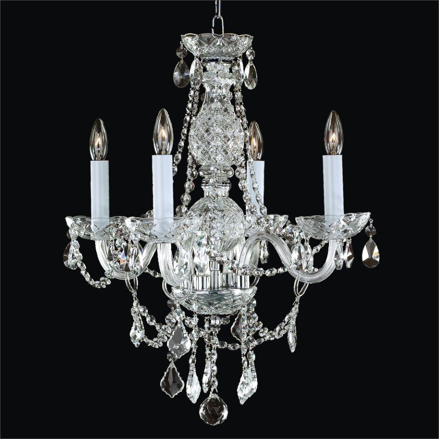 Chandelier 20 Inch W Crown Jewel 537 Glow