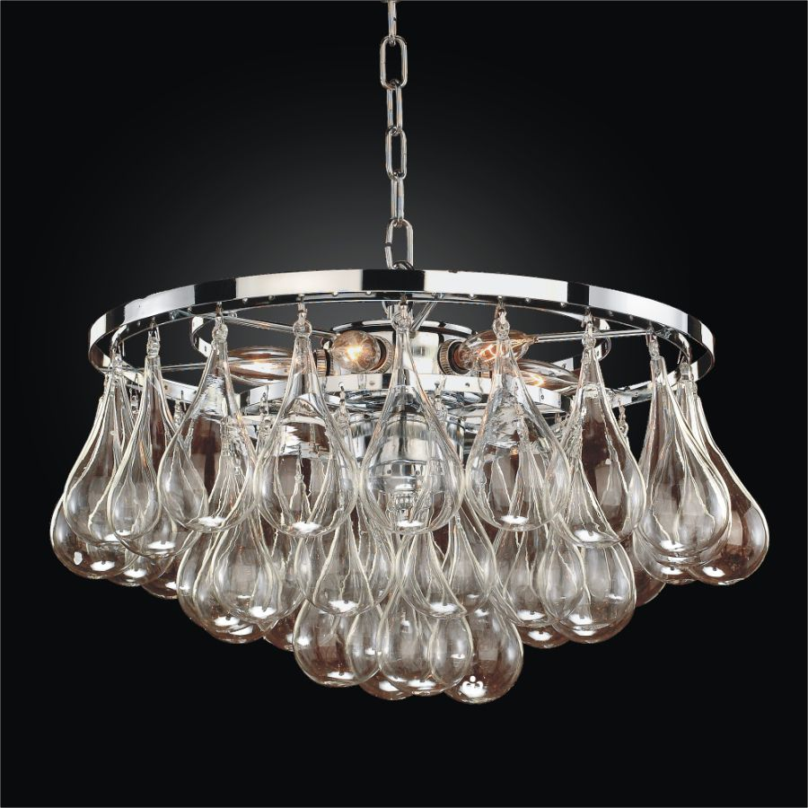 Glow Lighting Chandelier 15 Inch W Concorde 615 Glow