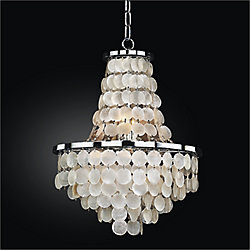 Glow Lighting Chandelier 16 Inch W Bayside 636 Glow