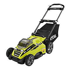 20-inch 40-Volt Lithium-Ion Brushless Cordless Push Lawn Mower with 5.0 Ah Battery & Charger