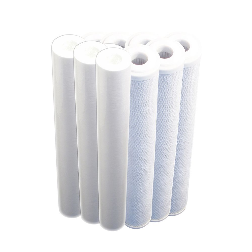 CasaWater Whole House Water Filtration System Refill Package (Gamma)