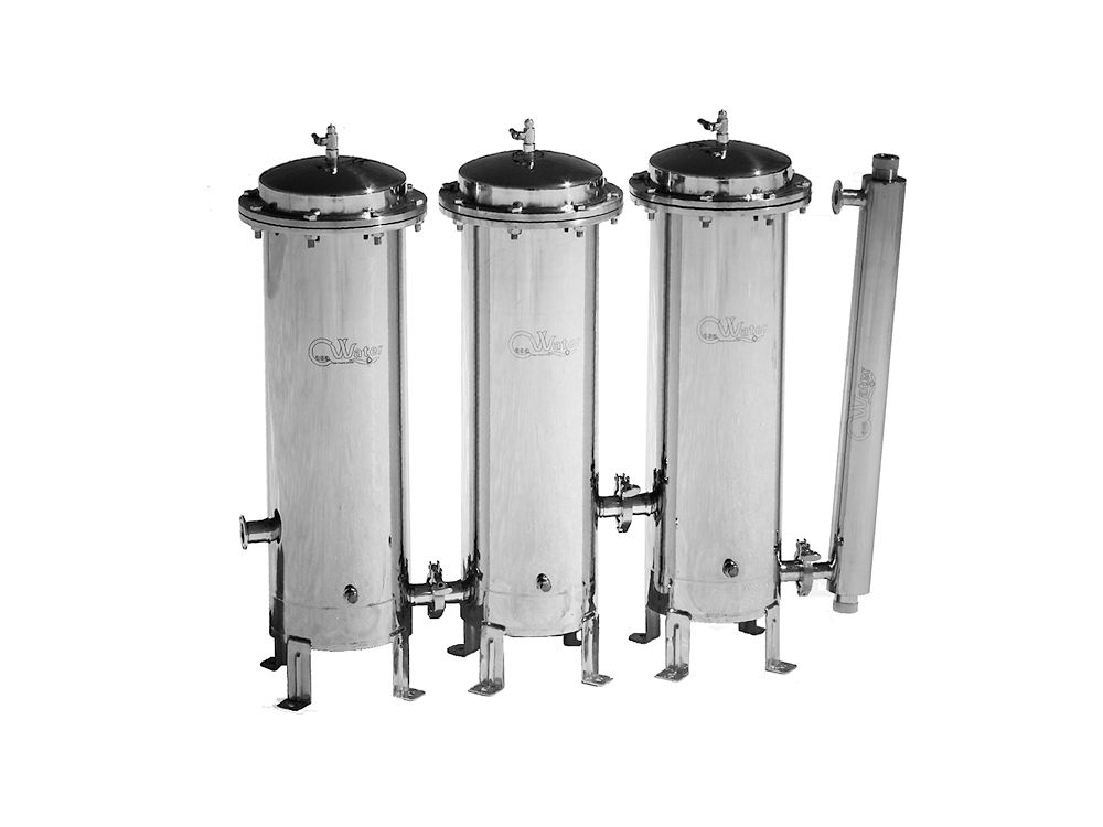 Whole House Stainless Steel Water Filtration System Gamma