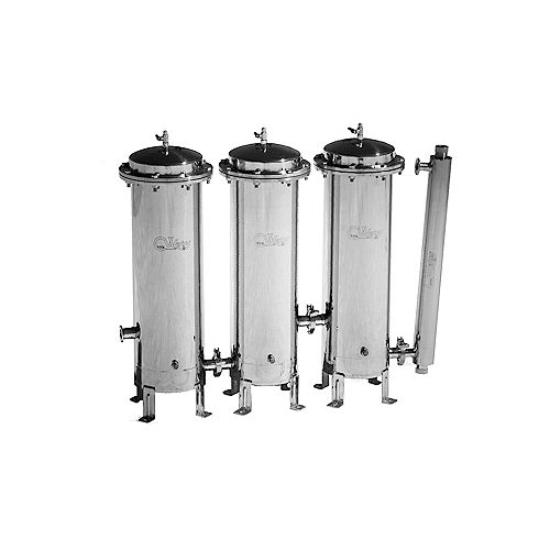CasaWater Whole House Stainless Steel Water Filtration System Gamma