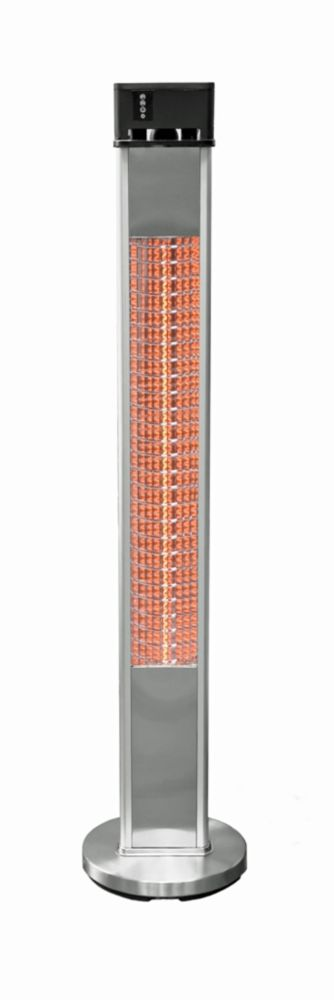 alpina electric infrared patio heater prod mounted falo product floor